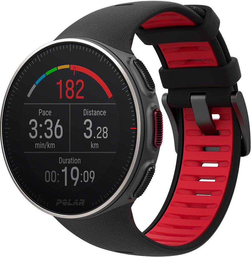 POLAR Vantage V Titan BLK/RED HR