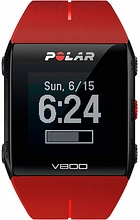 POLAR V800 HR Red H10 Strava Premium